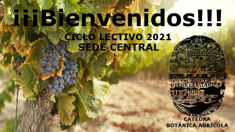 Bienvenido a Botánica Agrícola 2021